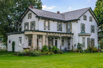 House in Amish Pennsylvania, USA