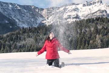 gioia sulla neve