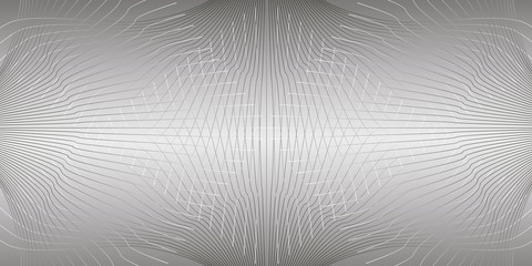 greyish intertwined lines on a gray gradient