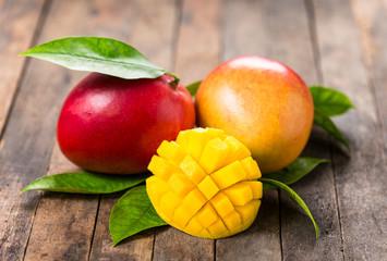 Poster Vruchten Fresh mango fruit