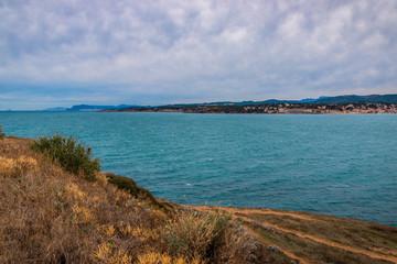 Vu sur Sanary-sur-Mer du cap Nègre