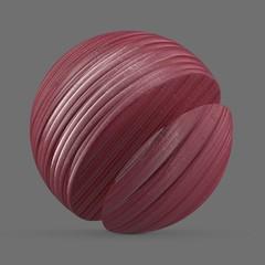 Pink ceramic gloss