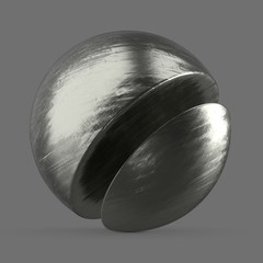 Polished silver mirror