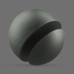 Polished matte titanium