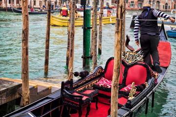 Venedig, Gondoliere