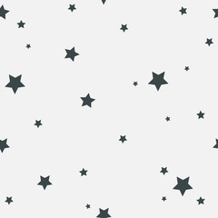Seamless Abstract Background with stars