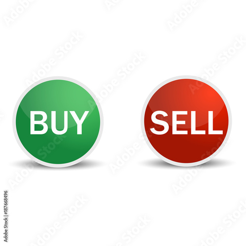 """Buy Sell Icon: """"Buy And Sell Icons Vector Illustration"""" Stock Image And"""