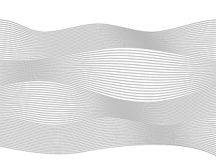 Wave Design element many parallel lines wavy form03