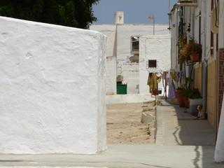 Los Albaricoques en Almeria (Andalucia,España),localidad de Níjar junto a Cabo de Gata donde rodaron peliculas de western con Clint Eastwood y Sergio Leone