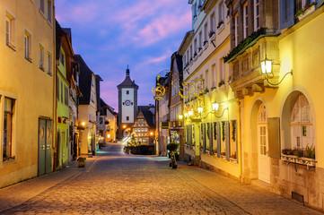 Rothenburg ob der Tauber Old Town, Germany