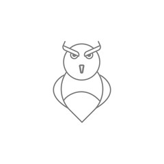 owl icon. Web element. Premium quality graphic design. Signs symbols collection, simple icon for websites, web design, mobile app, info graphics