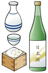 日本酒 アイコン素材