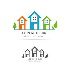home logo vector illustration