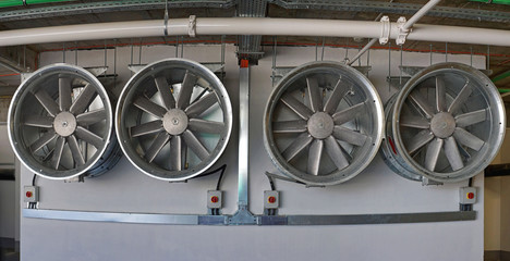 Hvac ventilation fan