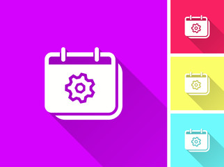 Settings - vector icon.