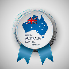 Happy Australia Day. Vector illustration