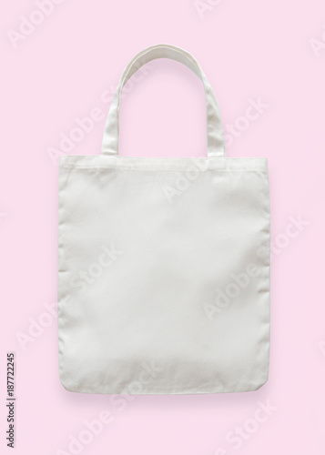 Canvas tote bag mockup blank white eco shopping sack template made canvas tote bag mockup blank white eco shopping sack template made of fabric cloth isolated on maxwellsz