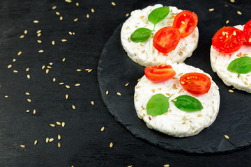 Healthy Rice Cakes.