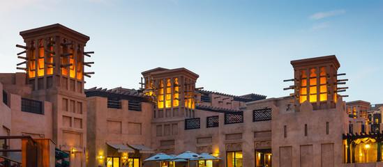 View of the  Souk Madinat Jumeirah