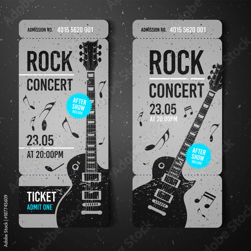 Concert ticket design template wwwpixsharkcom images galleries with a bite for Create concert tickets