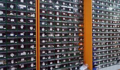 Hardware showcase shop room