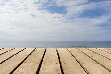 Hintergrund am Meer