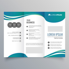 Brochure template layout, Megazine, cover design, business annual report, flyer Background Vector