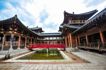 Dae Jang Geum Park in Yongin, Gyeonggi-do is the largest historical drama set in Korea and a hallyu themed park.