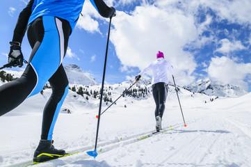 Skilanglauf in herrlicher Winterlandschaft
