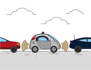 Autonomus car design