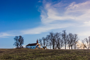 Church of the Holy Trinity. South Bohemian region. Czech Republic.