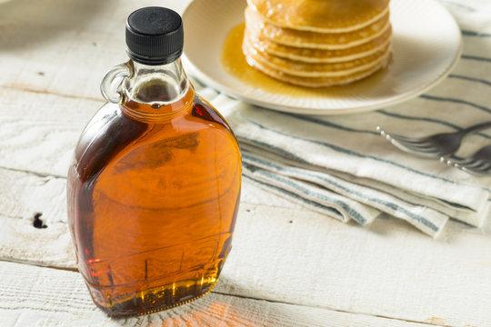 Raw Organic Amber Maple Syrup