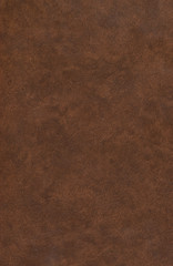 Old brown leather book cover. Abstract background