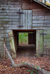 Old Alabama barn