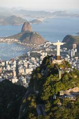 Printed kitchen splashbacks Rio de Janeiro christ the redeemer