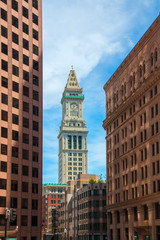 The Custom House Tower. Boston, Massachusetts, USA
