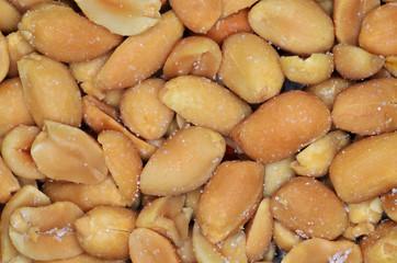 Peanuts background texture.