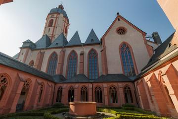 Catholic church St. Stephan in Mainz, Germany