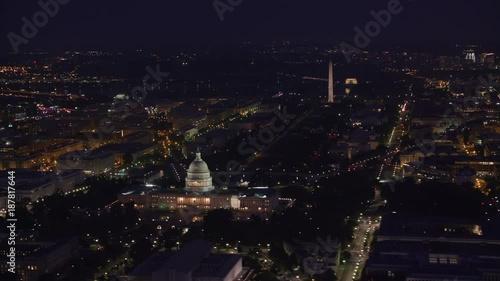 Washington D C Circa 2017 Aerial View Of The Lincoln Memorial