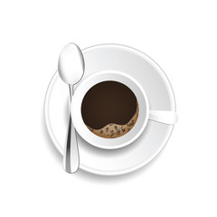 coffee cup hot drink illustration
