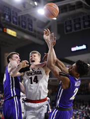 NCAA Basketball: Portland at Gonzaga