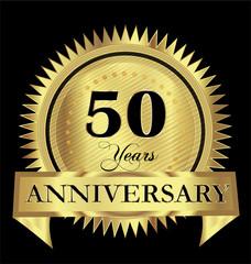 50 years anniversary logo vector