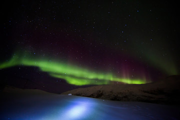 Polarlicht - Aurora boreals