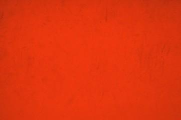Rote schmutzige Wand
