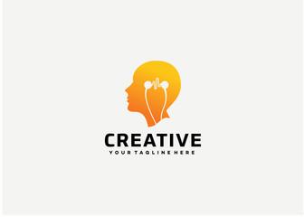Creative Logo Template Design Vector, Emblem, Design Concept, Creative Symbol, Icon