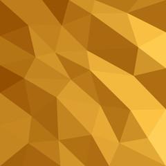 Abstract triangular orange background