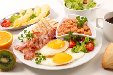 plate of english breakfast