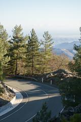 Image of road among mountain landscape