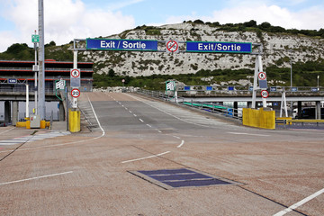 port of dover exit