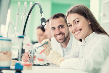 Future dentists, mentors and health technicans in training